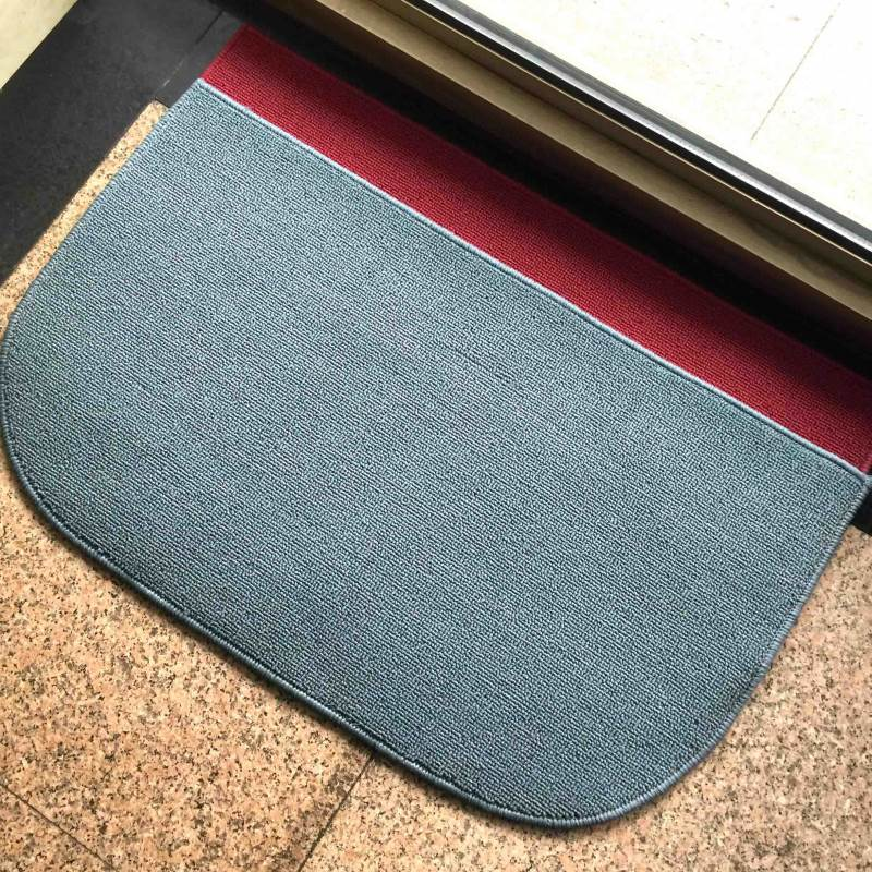 Loop Cut Pile PP Door Mats Phthalates CP65 Tested