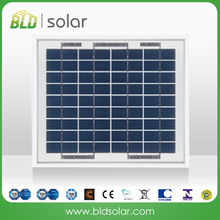 BLD SOLAR China manufacture high quality 5w 36cells 18V poly solar module/panel PV panel for solar street light