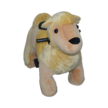 MZ5964 plush scooter coin operated system ride on animals for kids walking on mall animal rides