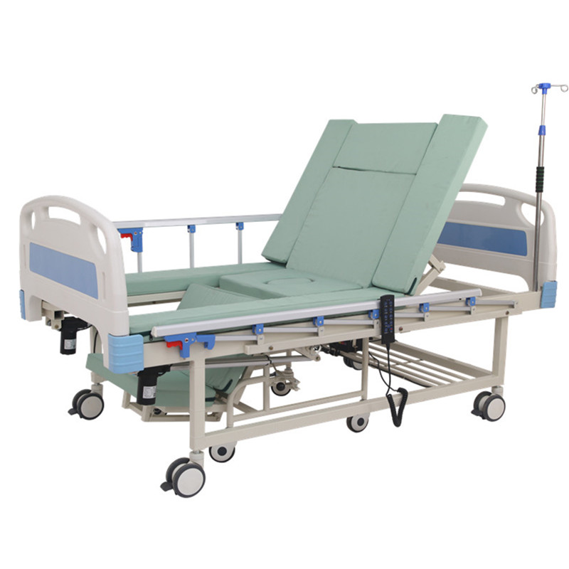 China supplier new products manual and Electric hospital furniture medical equipment bed home care nursing cheap used machine