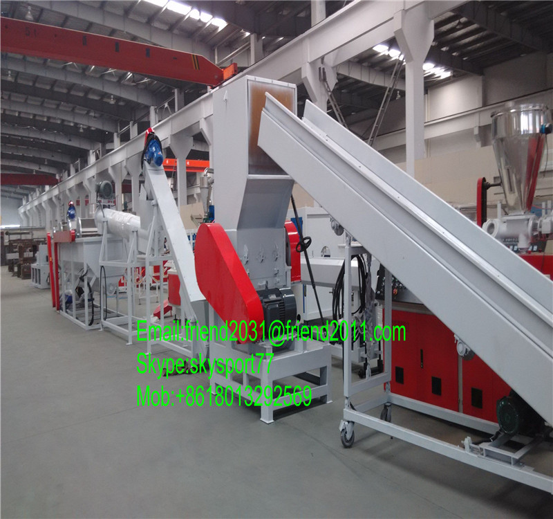 pp pe film automatic washer / washing recycling cleaning machine