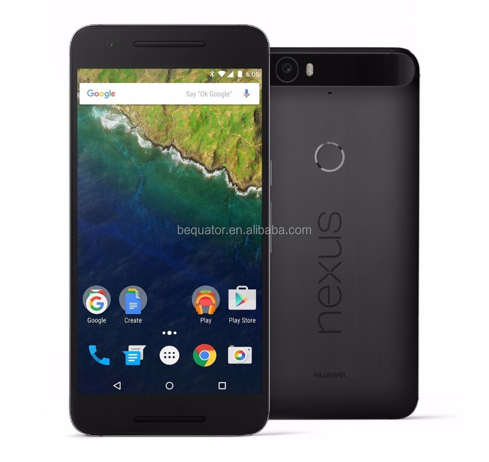 "Huawei Nexus 6P 64GB 5.7"" 12MP Octa-core 3GB Graphite Android Phone"