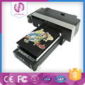A3 size 8-color inkjet world class digital flatbed t-shirt printer_Qingdao Unique