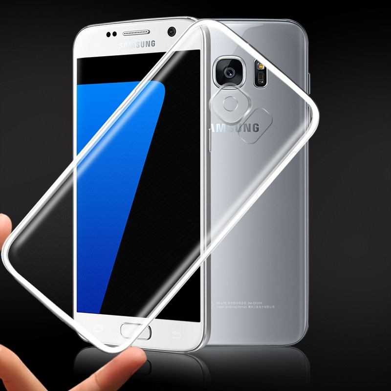Ultra Thin Soft TPU Gel Original Transparent Case For Samsung S7/S7 Edge Crystal Clear Silicon Back Cover Phone case