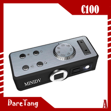 Factory Direct HD 12 Mega pixels HD 720P C100 pc camera mini packing driver with sound control function