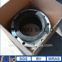 DN25-DN600 single SPHERE ductile iron FLANGED END rubber Expansion Joint