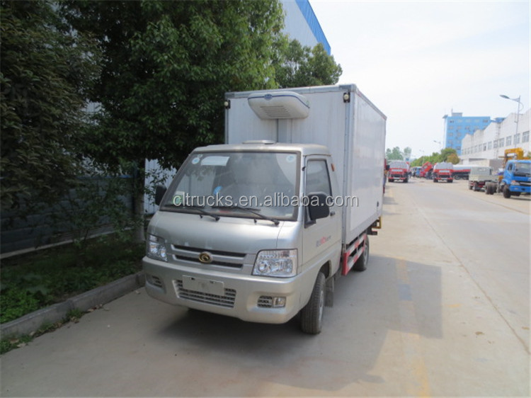 Alibaba china hot selling meat refrigerated freezer truck