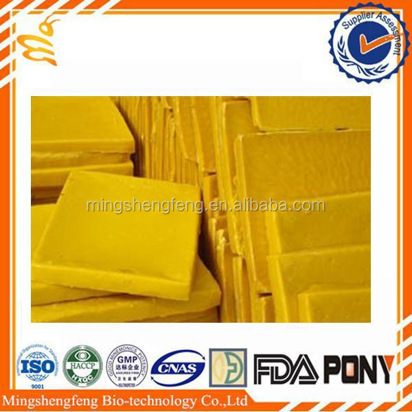 Professional manufacturing bee wax yellow organic bulk beeswax for candle-making
