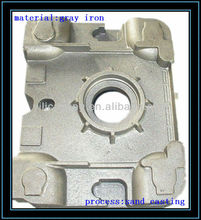 machinery case/box ductile iron casting 65-45-12 sand castings CNC machining OEM custom castings foundry