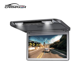 9inch 10inch 11inch 12inch 13inch 15inch 17inch 19inch tft lcd car ceiling mount monitor