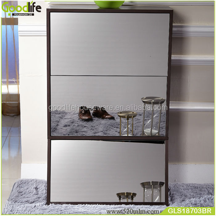 New design easy-dressing jordan shoe rack cabinet