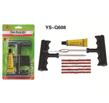 Q608 Emergency Car Tubeless Tire Puncture Repair Kit,Tire repair tool