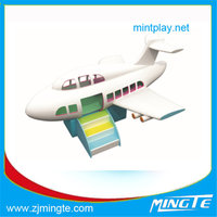 Airplane Air jet turntable Playground Electric Module Indoor playground equipment China cheap indoor playground equipment