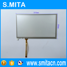 7.0'' inch 4-wire resistive Good quality and high sensitivity touch screen 164mm*99mm ST-07001 transparent glass digitizer