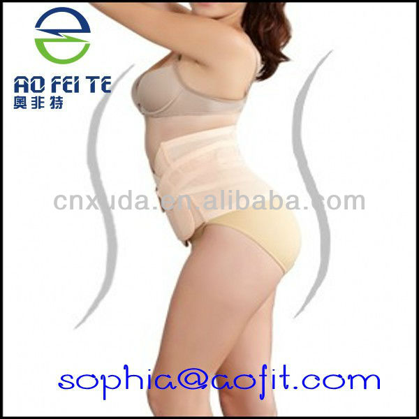 AFT-S009 AOFEITE hot sale Postpartum Recovery Belly Waist Body Support Belt Band Slimming