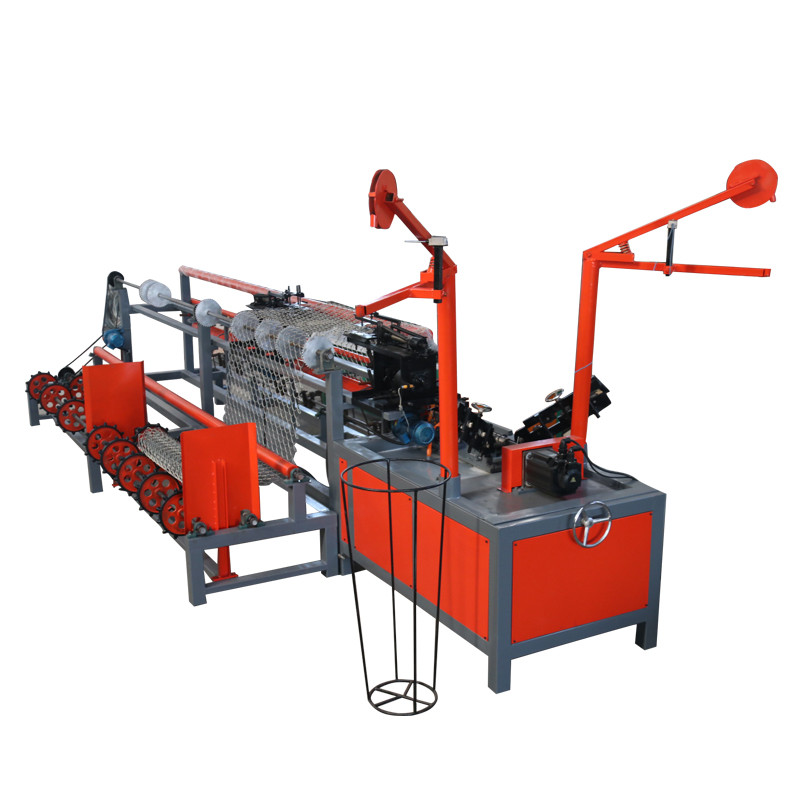 Chain manufacturing <strong>equipment</strong>/chain link fence machine