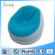 Custom Home Furniture Self Inflating Inflatable Air Chair Sofa Laybag for Sale