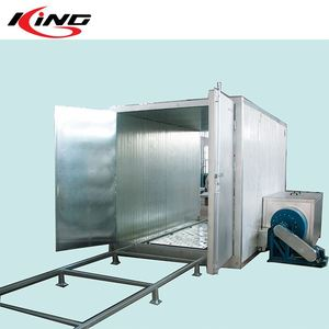 Professional Tunnel Curing Oven for Powder Coating Line