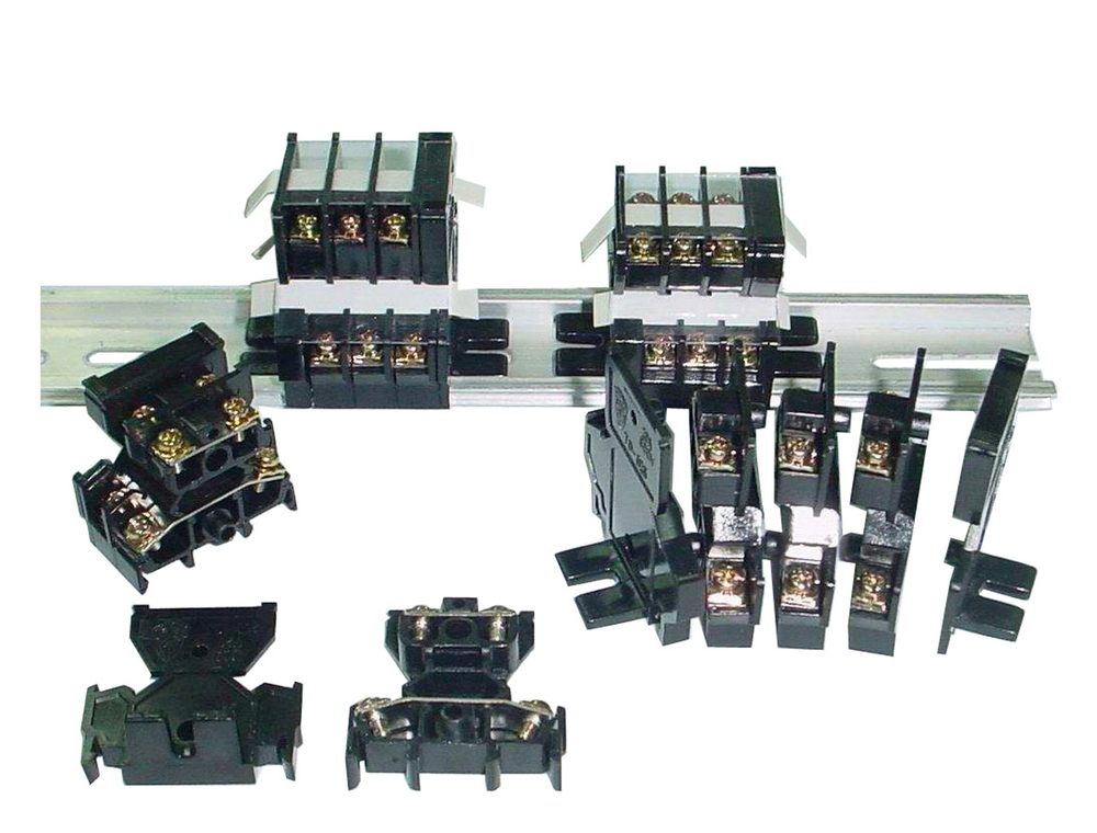 TD-Series Taiwan Din Mount Deck Double Level Layer Terminal Block