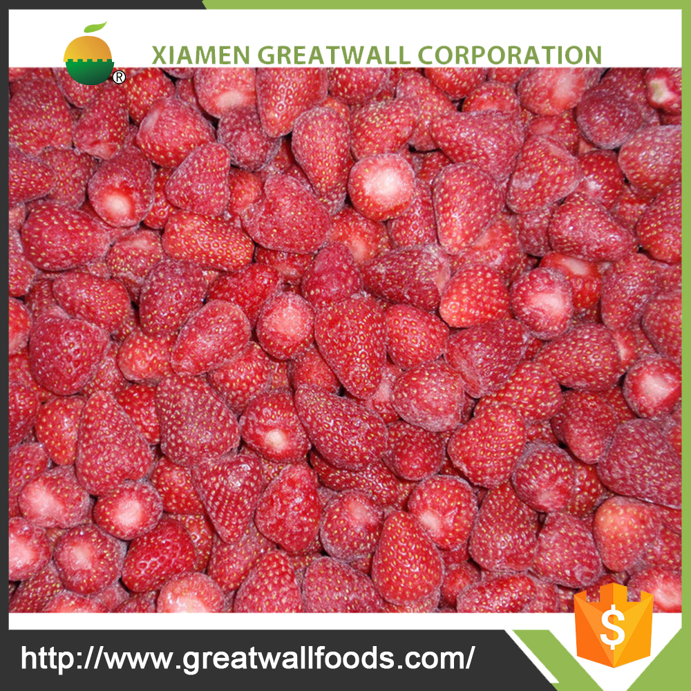HACCP bulk fresh strawberries