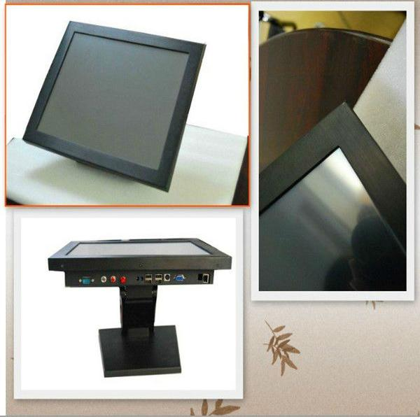 Good Price 18.5'' 3G 5Wire Resistive Touch AIO industrial touch screen panel pc Computer With Wifi /Webam