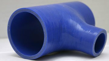 Elbow reducer hump silicone hose