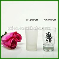42ml frosted Tequila Shot Glass hot sale