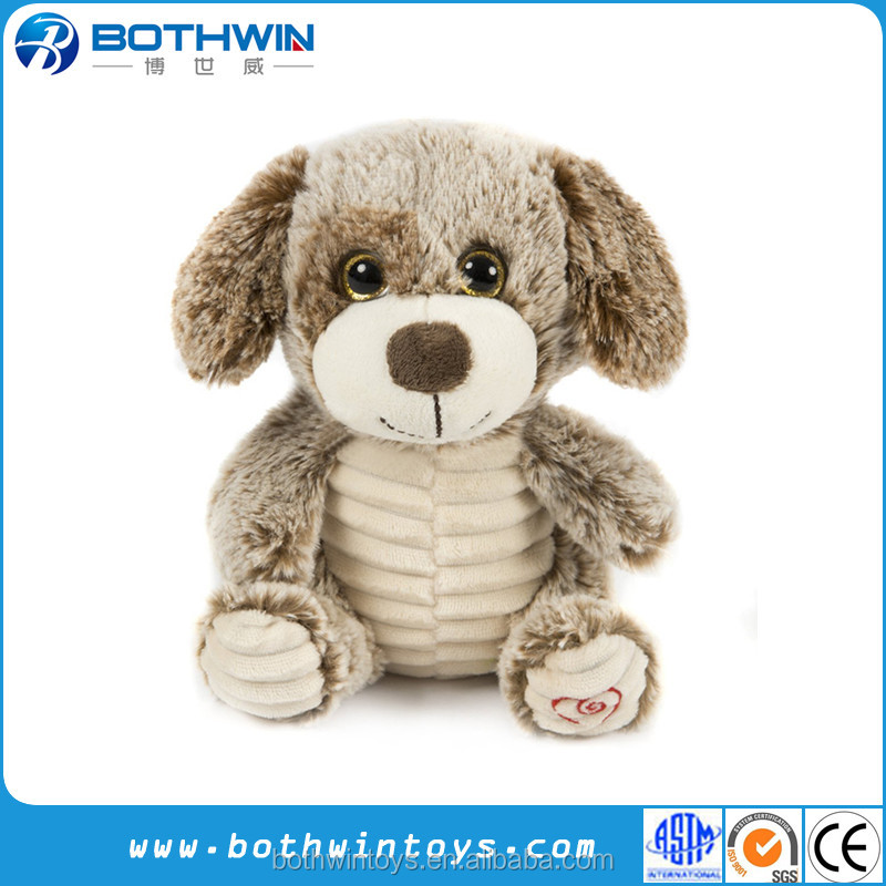 2017 Russia New design dog shaped plush candy bag for kids