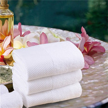 Hotel white terry design 100 cotton your own bath towel