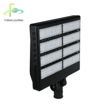 Outdoor IP66 aluminum alloy 400w ultra bright led street light for highway