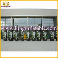 Promotion inflatable pillar, advertising props, air tight cloumn
