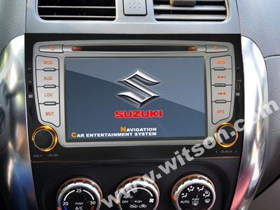 WITSON Double din SUZUKI SX4 car dvd player