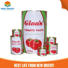 canned food china factory New Orient Pure Tomato Paste Paste tomato paste
