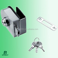 sliding glass door push lock with key