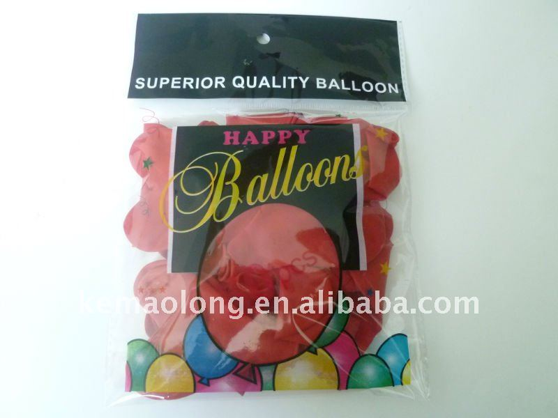 Inflatabale packing balloon for shoping