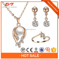 Freshwater Pearl necklace wholesale famous brands jewelry sets exotic style
