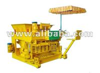 AUTOMATIC MOBILE CONCRETE HOLLOW BLOCK BRICK MAKING MACHINE PRICE
