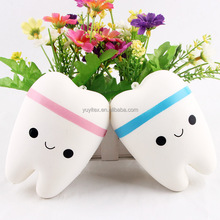 Tooth Key toys Buckle Squishy Super Jumbo Scented Slow Rising Squishies Fun Toy
