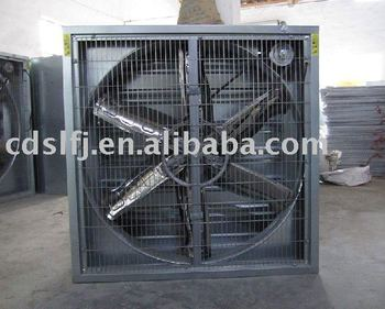 Ventilation cooling fan for paint spray booth textile for Paint booth fan motor