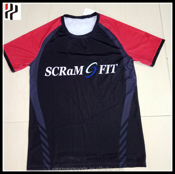 Customized Sublimated Rugby Trainning Jersey T shirt for Newzealand