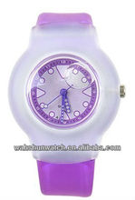 2013 advertising fancy liquid-filled watch kids watch