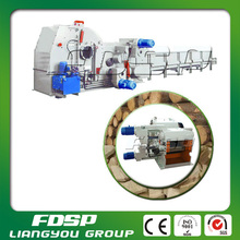 Industrial firewood wood chips log making machine