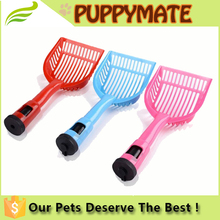 Plastic Pet Dog Puppy Cat Kitten Litter Scoop Sand Waste Scooper Shovel Cleaning Tool