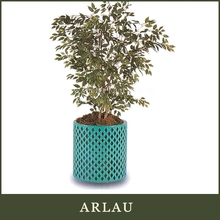 Arlau water resistance hotel furniture,galvanized flower planter,galvanized tin planters