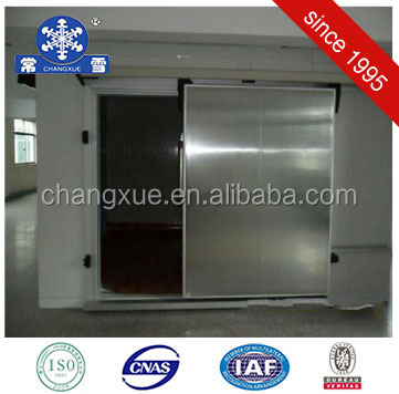 cold room door for sliding and lock