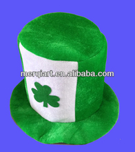 St. Patrick's Day Costume Party velvet Leprechaun Hat
