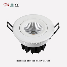 Adjustable spotlights COB LED Down lights 9W Downlight dali dimming