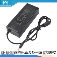 2017 hot selling 12V 24V output ac to dc adapter brick type universal power supply led driver 24V 5A