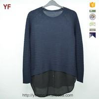 100% Acrylic Girls Woolen Handmade Sweater Design For Girl