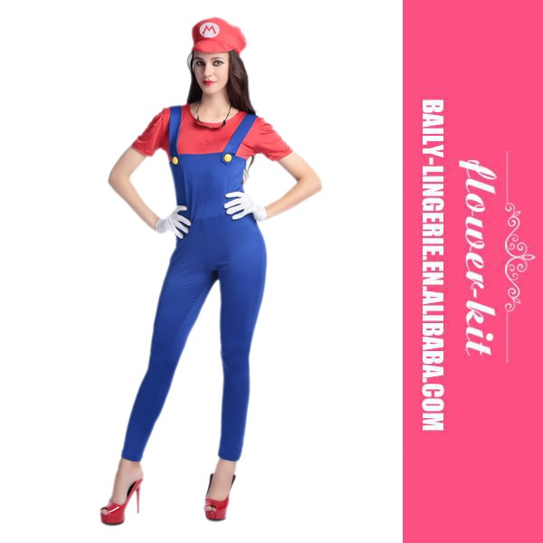 pictures of plumber halloween costume